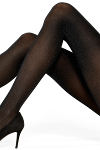 Vogue Shimmer Stripe Pantyhose